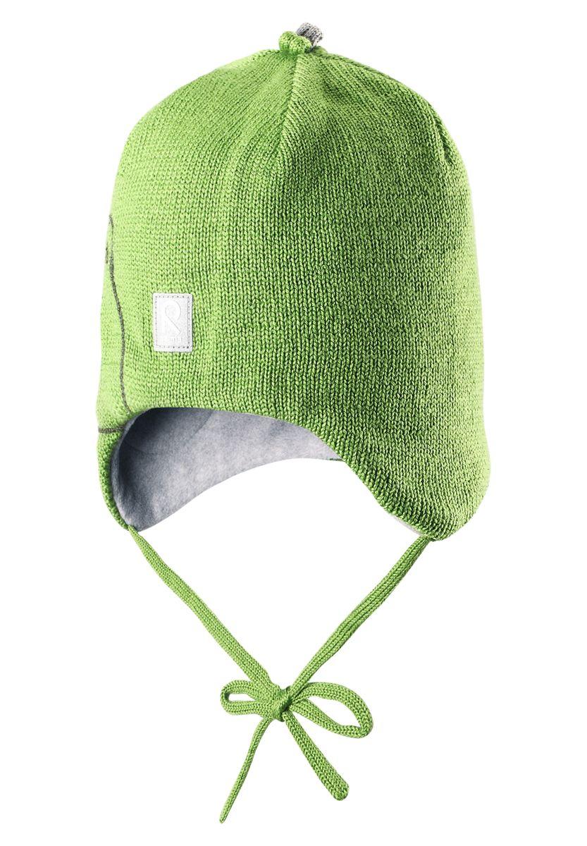 Шапка детская518360-6980Очаровательная шерстная шапочка с веселым животным спереди! Она изготовлена из смеси теплой шерсти, что вызывает приятное ощущение. Вставки в области ушей придают дополнительную защиту, а подкладка из мягкого флиса подарит коже приятные ощущения.