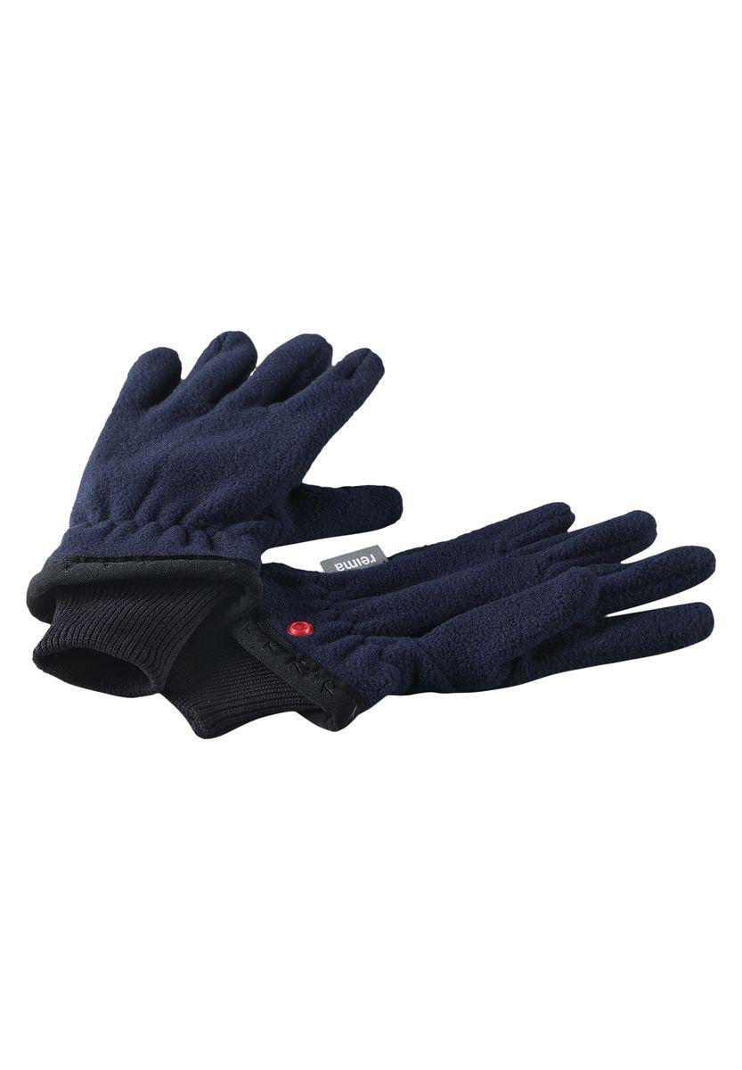 Перчатки детские. 527191527191-4620AДетские перчатки Reima согреют ручки вашего ребенка в холодную погоду. Изделие выполнено из высококачественного полиэстера, который хорошо удерживает тепло и обеспечивает комфорт. С внешней стороны перчатки оформлены нашивками с логотипом бренда. Модель дополнена широкими манжетными резинками, который удерживают тепло и не сдавливают руку ребенка. Перчатки станут идеальным вариантом для прохладной погоды, в них ребенку будет тепло и комфортно.