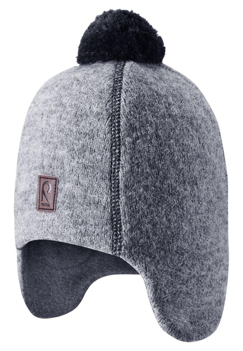 Шапка детская528429A-4900Эта супер-теплая шапочка-бини для детей великолепно согреет в морозные зимние дни! Благодаря мягкой теплой подкладке из флиса маленькие головки не замерзнут и не вспотеют во время активных игр на улице. Веселая модель дополнена яркой фетровой отделкой и симпатичным помпоном на макушке. В этой модели уши и лоб надежно прикрыты, а ветронепроницаемые вставки в области ушей обеспечивают дополнительную защиту от холодного ветра.