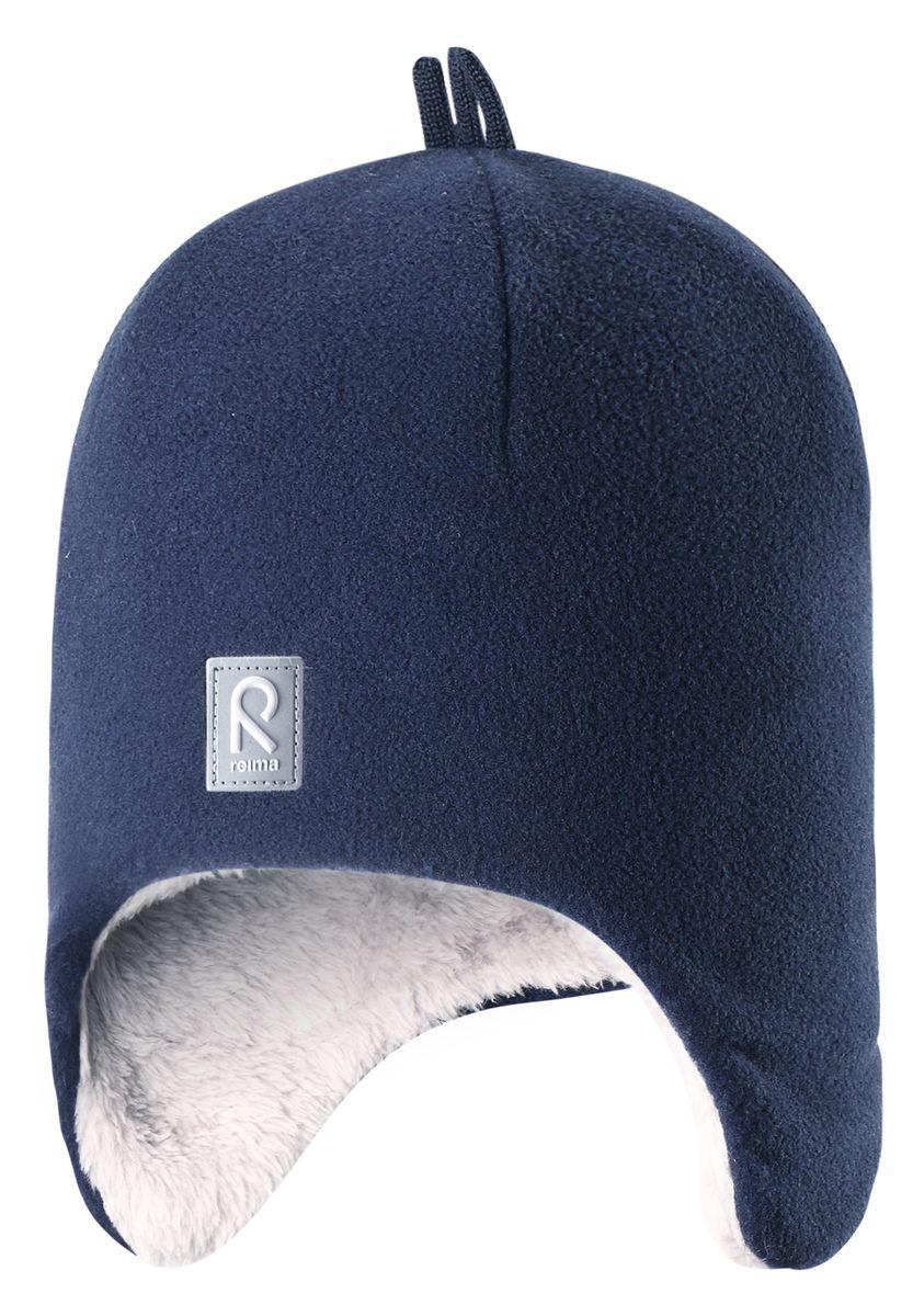 Шапка детская528452-4620Красивая и модная шапка для малышей и детей постарше украшена забавными деталями в зимнем стиле! Она сделана из теплого и мягкого флиса и имеет уютную вязаную подкладку. Ветронепроницаемые вставки в области ушей защищают маленькие ушки от резкого ветра и холодной погоды во время игры в снежки. Стильные и классические цвета оживят любую одежду и легко с ней сочетаются.