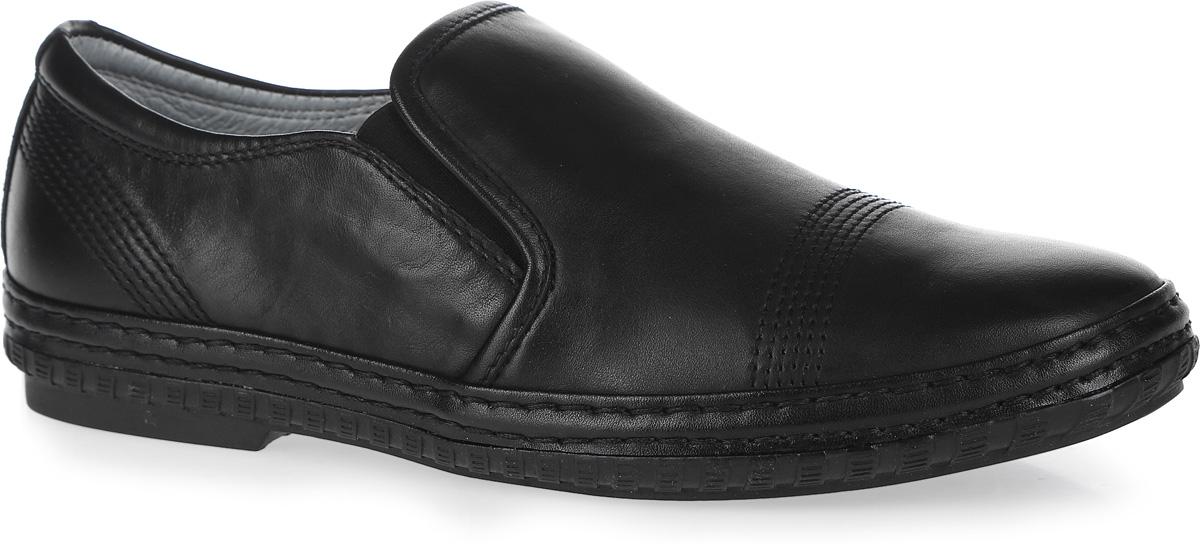 Туфли для мальчика. 23356-123356-1Стильные туфли от Kapika придутся по душе вашему юному моднику! Модель выполнена из натуральной кожи и дополнена эластичными резинками на подъеме для лучшей фиксации изделия на ноге. Обувь оформлена декоративной прострочкой. Подкладка и стелька из ЭВА материала, изготовленные из натуральной кожи, предотвратят натирание и гарантируют уют. Стелька дополнена супинатором, который обеспечивает правильное положение ноги ребенка при ходьбе, предотвращает плоскостопие. Подошва оснащена рифлением для лучшего сцепления с различными поверхностями. Удобные классические туфли - незаменимая вещь в гардеробе каждого мальчика.