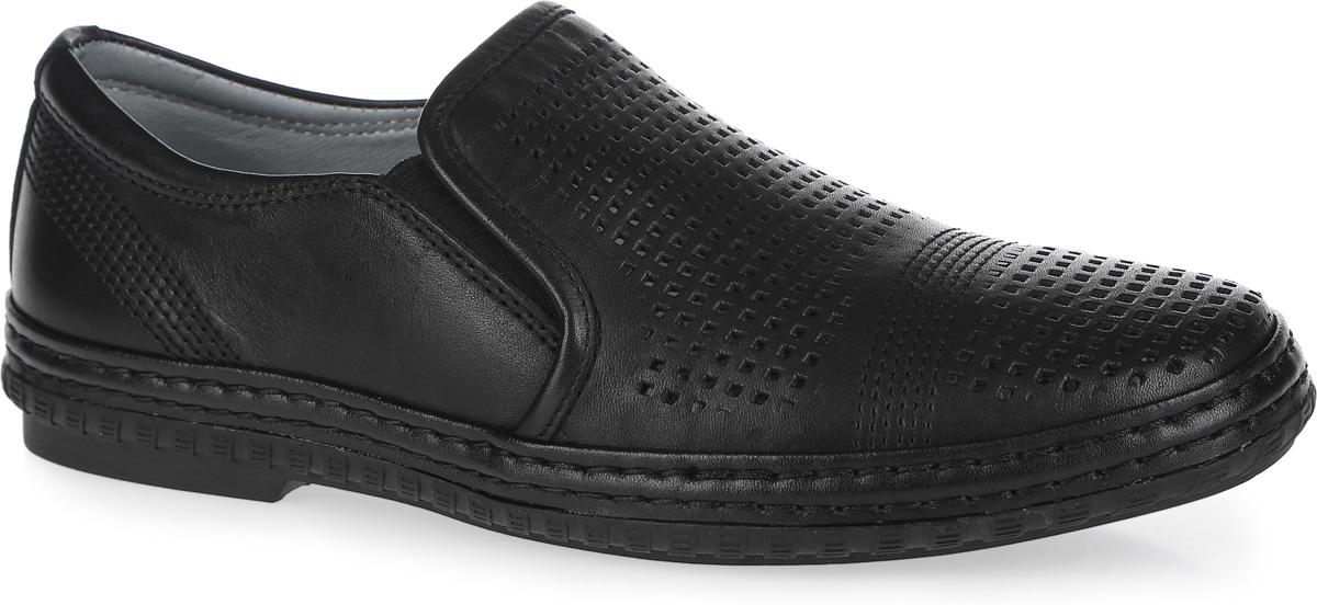 Туфли для мальчика. 23357-123357-1Стильные туфли от Kapika придутся по душе вашему юному моднику! Модель выполнена из натуральной кожи и дополнена эластичными резинками на подъеме для лучшей фиксации изделия на ноге. Обувь оформлена декоративной прострочкой и крупной перфорацией. Подкладка и стелька из ЭВА материала, изготовленные из натуральной кожи, предотвратят натирание и гарантируют уют. Стелька дополнена супинатором, который обеспечивает правильное положение ноги ребенка при ходьбе, предотвращает плоскостопие. Подошва оснащена рифлением для лучшего сцепления с различными поверхностями. Удобные классические туфли - незаменимая вещь в гардеробе каждого мальчика.