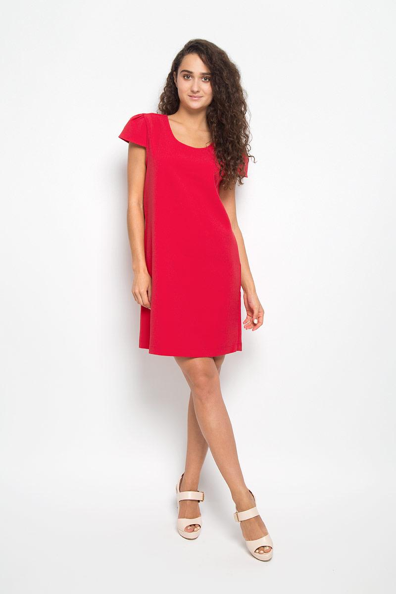 ПлатьеMX3002141Элегантное платье Mexx выполнено из высококачественного эластичного полиэстера. Такое платье обеспечит вам комфорт и удобство при носке и непременно вызовет восхищение у окружающих. Модель средней длины с короткими рукавами-крылышками и круглым вырезом горловины выгодно подчеркнет все достоинства вашей фигуры. Изделие оформлено перекрещивающимися лентами на спинке. Изысканное платье-миди создаст обворожительный и неповторимый образ. Это модное и комфортное платье станет превосходным дополнением к вашему гардеробу, оно подарит вам удобство и поможет подчеркнуть ваш вкус и неповторимый стиль.