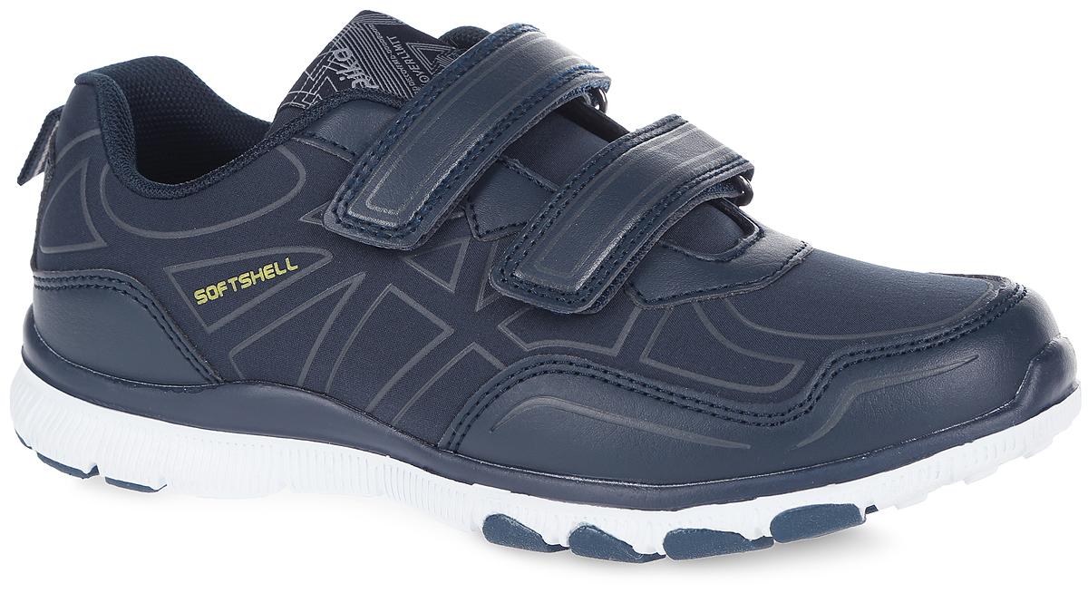 Кроссовки для мальчика. 74195с74195с-1Стильные кроссовки от Kapika заинтересуют вашего мальчика с первого взгляда. Модель, выполненная из текстиля и искусственной кожи, оформлена на язычке фирменной текстильной нашивкой. Технология верха Soft Shell обеспечивает воздухопроницаемость и предотвращает проникновение влаги. Классическая шнуровка надежно зафиксирует изделие на ноге. Внутренняя поверхность, выполненная из текстиля, гарантирует комфорт и предотвращает натирание. Анатомическая стелька из ЭВА материала с текстильной поверхностью гарантирует оптимальный микроклимат внутри обуви. Стелька оснащена супинатором, который обеспечивает правильное положение стопы ребенка при ходьбе и предотвращает плоскостопие. Легкая подошва с рифлением обеспечивает отличное сцепление с любой поверхностью. Модные кроссовки займут достойное место среди коллекции обуви вашего мальчика.
