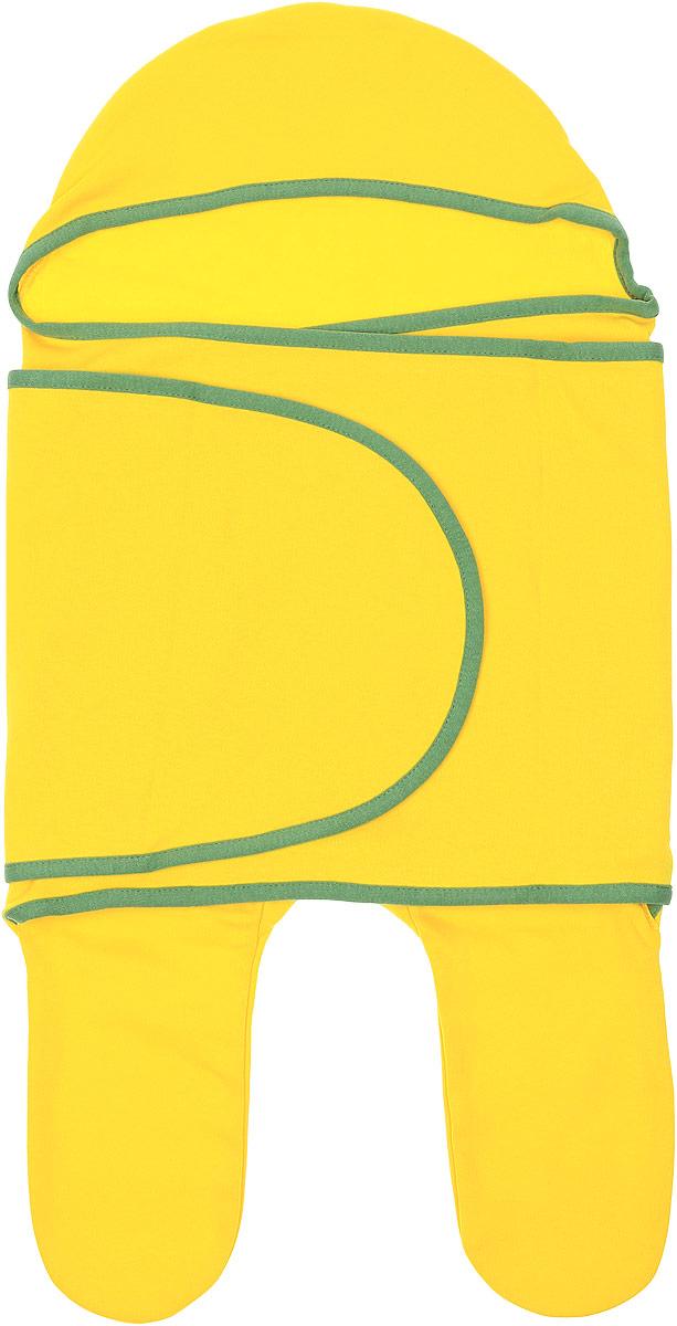 Конверт для новорожденного35147Комбинезон-конверт Mums Era Мимоза покорит любого родителя своей удобной простотой. Изделие выполнено из натурального хлопка. Материал очень мягкий, приятный к телу, хорошо пропускает воздух, не раздражает нежную кожу ребенка. Благодаря штанинам комбинезон удобен для поездок малыша в автокресле или в люльке (где его нужно пристегнуть). На изделии предусмотрена специальная вставка под подгузник для дополнительного объема. Длинный рукав комбинезона оборачивается вокруг ребенка наподобие пеленки. По краям комбинезон-конверт оформлен окантовкой. Комбинезон-конверт - удобная и многофункциональная одежда для первых месяцев жизни младенца. Он защитит малыша от холода и сквозняка, а также подарит ощущение уюта и комфорта!