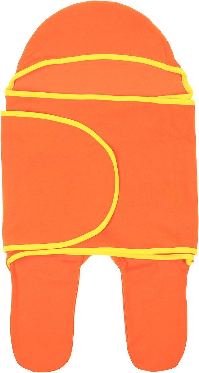 Конверт для новорожденного35149Комбинезон-конверт Mums Era Кэррот покорит любого родителя своей удобной простотой. Изделие выполнено из натурального хлопка. Материал очень мягкий, приятный к телу, хорошо пропускает воздух, не раздражает нежную кожу ребенка. Благодаря штанинам комбинезон удобен для поездок малыша в автокресле или в люльке (где его нужно пристегнуть). На изделии предусмотрена специальная вставка под подгузник для дополнительного объема. Длинный рукав комбинезона оборачивается вокруг ребенка наподобие пеленки. По краям комбинезон-конверт оформлен окантовкой. Комбинезон-конверт - удобная и многофункциональная одежда для первых месяцев жизни младенца. Он защитит малыша от холода и сквозняка, а также подарит ощущение уюта и комфорта!