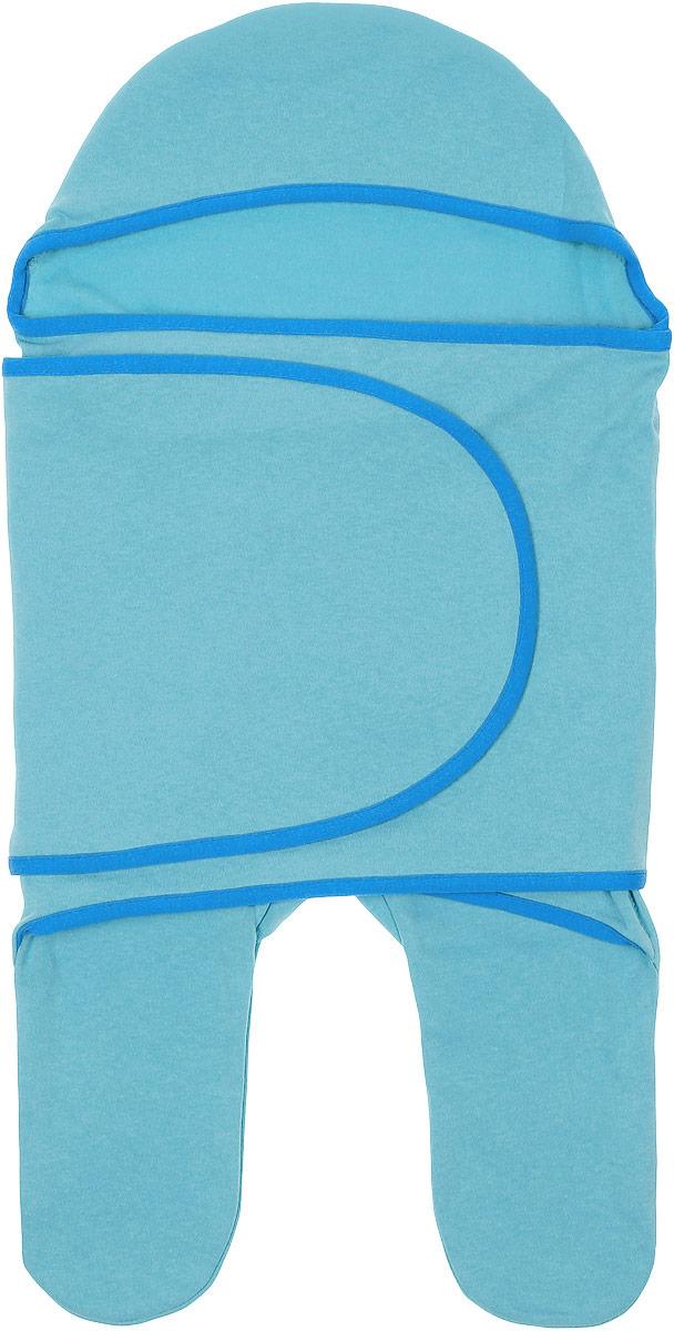 Конверт для новорожденного8344Комбинезон-конверт Mums Era Ментол покорит любого родителя своей удобной простотой. Изделие выполнено из натурального хлопка. Материал очень мягкий, приятный к телу, хорошо пропускает воздух, не раздражает нежную кожу ребенка. Благодаря штанинам комбинезон удобен для поездок малыша в автокресле или в люльке (где его нужно пристегнуть). На изделии предусмотрена специальная вставка под подгузник для дополнительного объема. Длинный рукав комбинезона оборачивается вокруг ребенка наподобие пеленки. По краям комбинезон-конверт оформлен окантовкой. Комбинезон-конверт - удобная и многофункциональная одежда для первых месяцев жизни младенца. Он защитит малыша от холода и сквозняка, а также подарит ощущение уюта и комфорта!