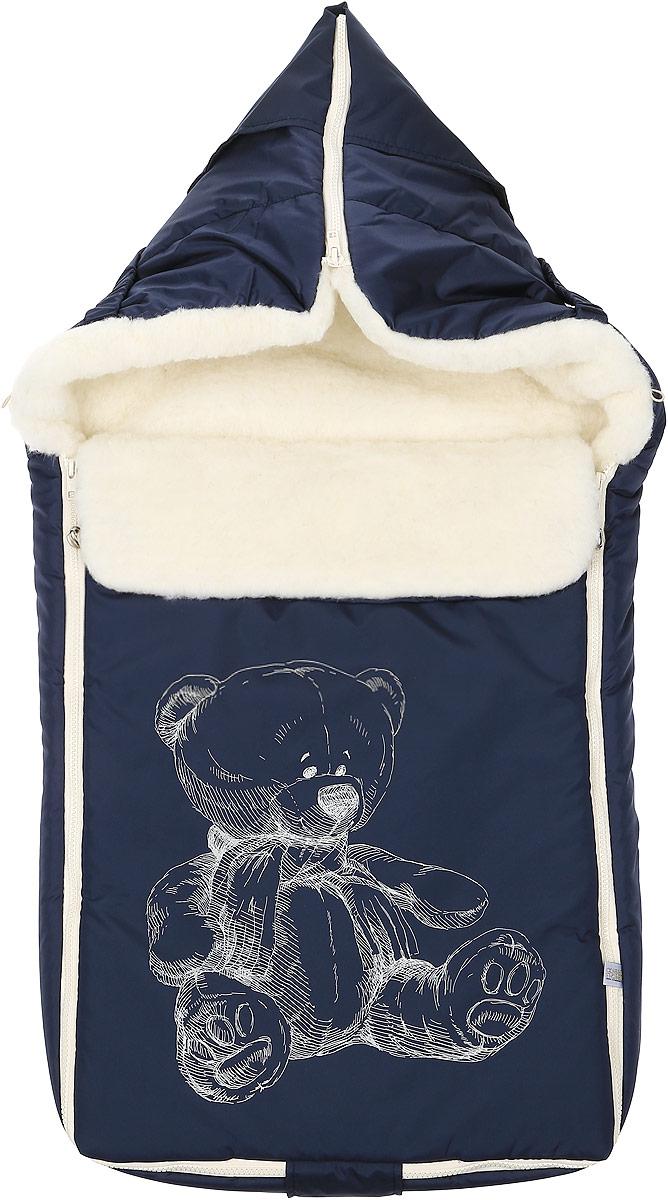 Конверт для новорожденного Микка. 987987/10Зимний конверт для новорожденного Сонный Гномик Микка порадует даже самых требовательных мам и согреет малыша в холодную погоду. Конверт изготовлен из специальной синтетической ткани Dewspo (100% полиэстер), которая защищает от дождя и ветра. Меховая подкладка выполнена из шерсти с добавлением полиэстера. В качестве утеплителя используется шелтер (100% полиэстер). Шелтер (Shelter) - утеплитель, состоящий из микроволокон, удачно сочетает непревзойденное тепло натурального пуха и лучшие качества синтетических материалов. Его уникальность состоит в особенности структуры, повторяющей пух. Ультратонкие волокна делают утеплитель мягким, позволяющим ребенку активно двигаться. Утеплитель шелтер максимально защищает от холода, не стесняя движений, позволяя телу дышать. Конверт легко стирается в домашних условиях, быстро сохнет и сохраняет форму. Конструкция модели снабжена двумя удобными застежками-молниями. Она раскладывается на два отдельных меховых коврика....
