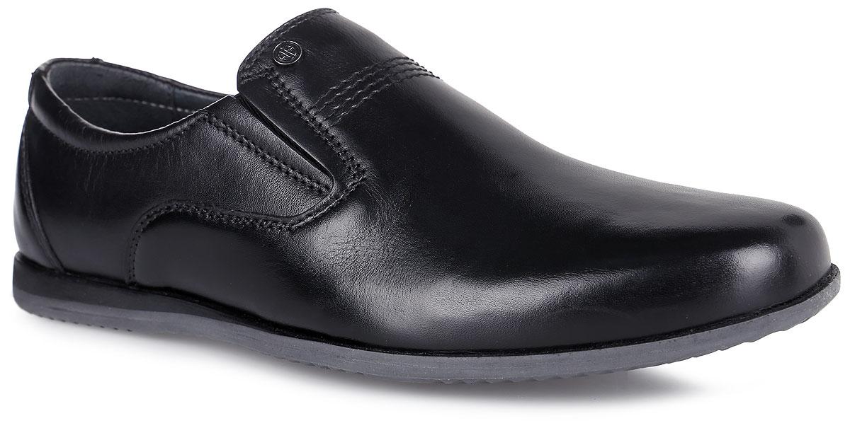 Туфли для мальчика. 2441724417Классические туфли от Kapika придутся по душе вашему мальчику! Модель выполнена из натуральной высококачественной кожи и оформлена лаконичной прострочкой. Резинки, расположенные на подъеме, отвечают за комфортную посадку модели на ноге. Стелька из натуральной кожи обеспечивает комфорт при ходьбе. Рифленая поверхность подошвы защищает изделие от скольжения. Удобные туфли - незаменимая вещь в гардеробе каждого ребенка.