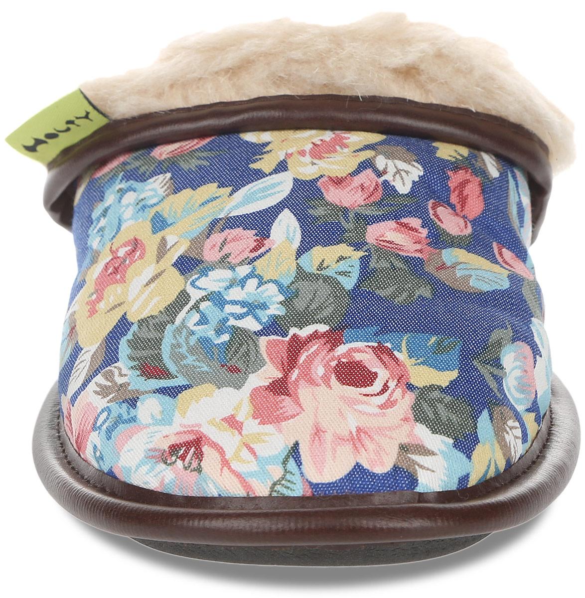 Тапки женские Цветы. 030322-1200/эп