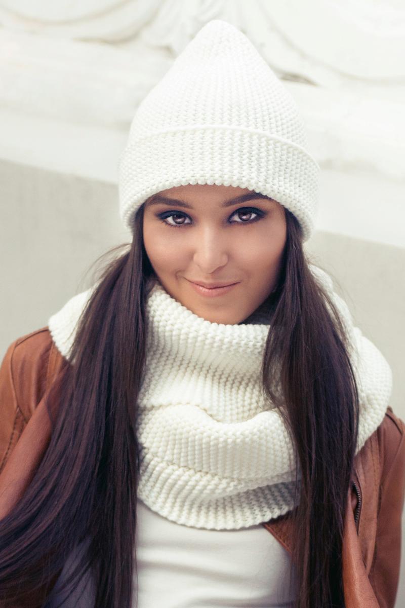Комплект аксессуаров женский. 991461991461Яркий, модный комплект согреет в любой мороз.,детали и оттенок изделия могут отличаться от представленных на фото
