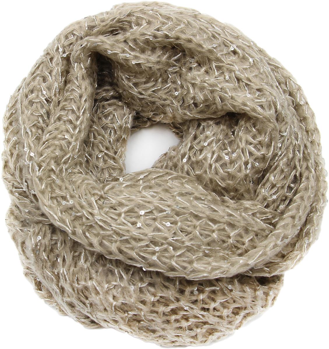 Снуд-Хомут женский. 991477991477Яркий, модный снуд согреет в любой мороз.,детали и оттенок изделия могут отличаться от представленных на фото
