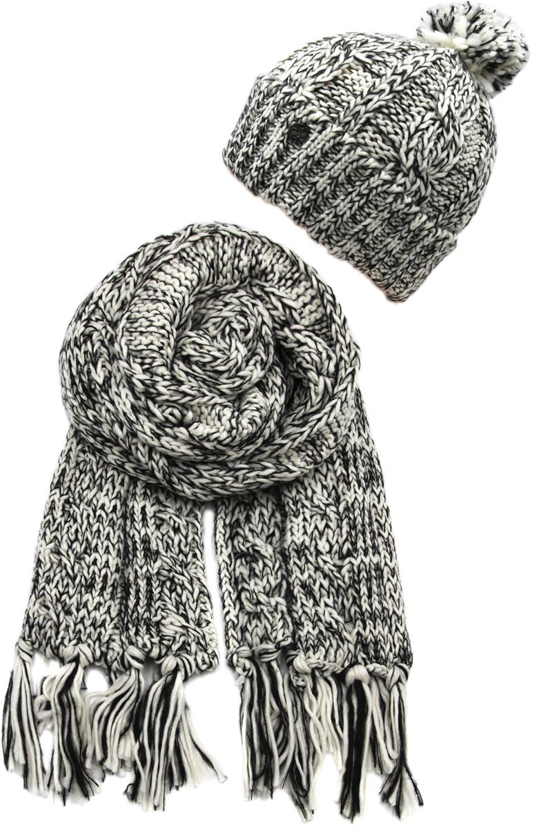 Комплект аксессуаров женский. 992166992166Яркий, модный комплект согреет в любой мороз.,детали и оттенок изделия могут отличаться от представленных на фото