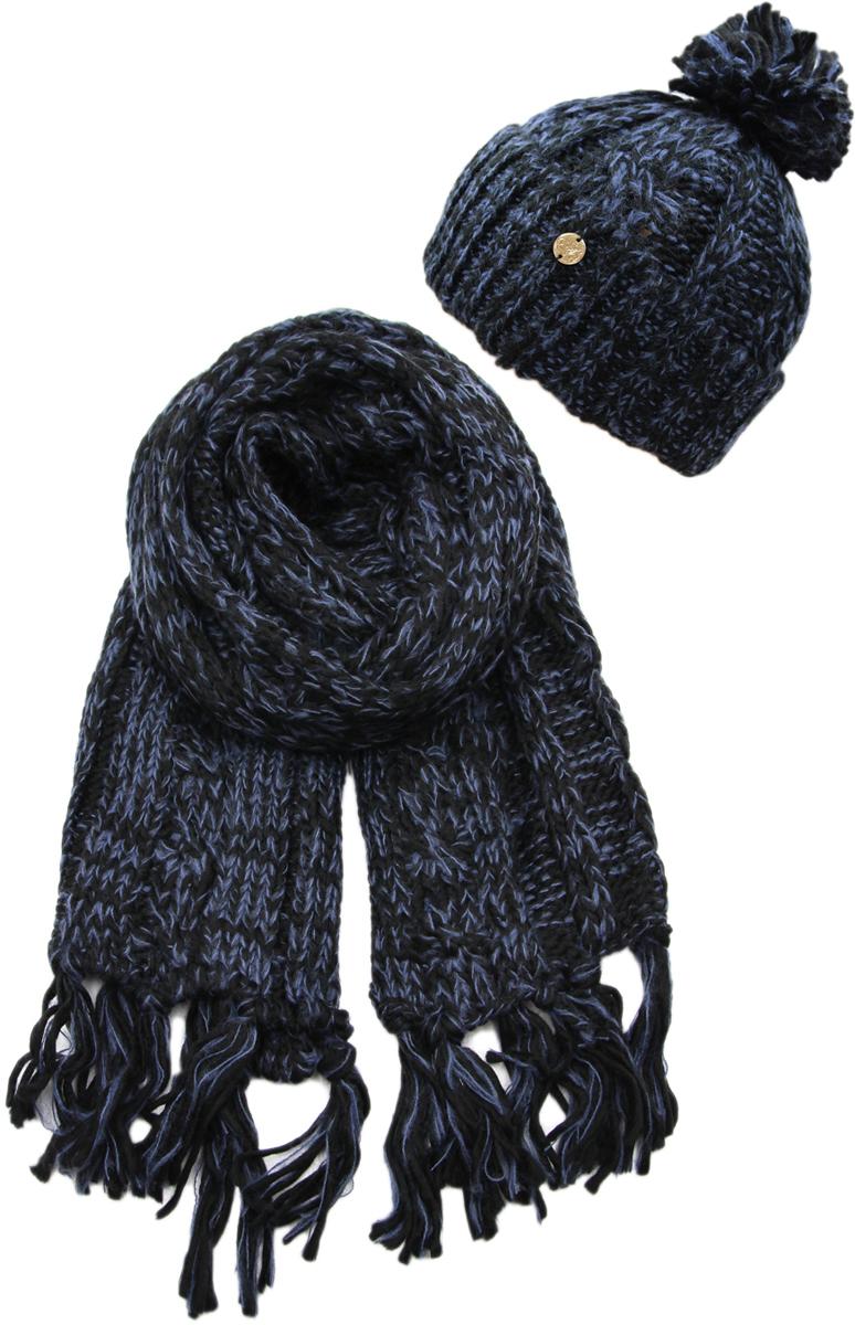 Комплект аксессуаров женский. 992167992167Яркий, модный комплект согреет в любой мороз.,детали и оттенок изделия могут отличаться от представленных на фото