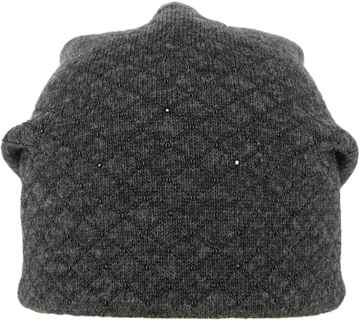 Шапка женская. 993855993855Теплая женская шапка ,детали и оттенок изделия могут отличаться от представленных на фото