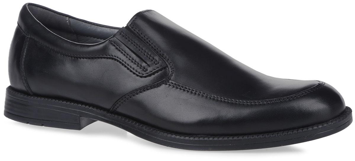 Туфли для мальчика. 23427-123427-1Классические туфли от Kapika придутся по душе вашему мальчику! Модель выполнена из натуральной высококачественной кожи. Эластичные вставки по бокам обеспечивают идеальную посадку модели на ноге. Внутренняя поверхность из натуральной кожи не натирает. Стелька из материала ЭВА с поверхностью из натуральной кожи дополнена супинатором с перфорацией, который обеспечивает правильное положение ноги ребенка при ходьбе, предотвращает плоскостопие. Каблук и подошва с рифлением гарантируют отличное сцепление с любой поверхностью. Удобные туфли - незаменимая вещь в гардеробе каждого ребенка.