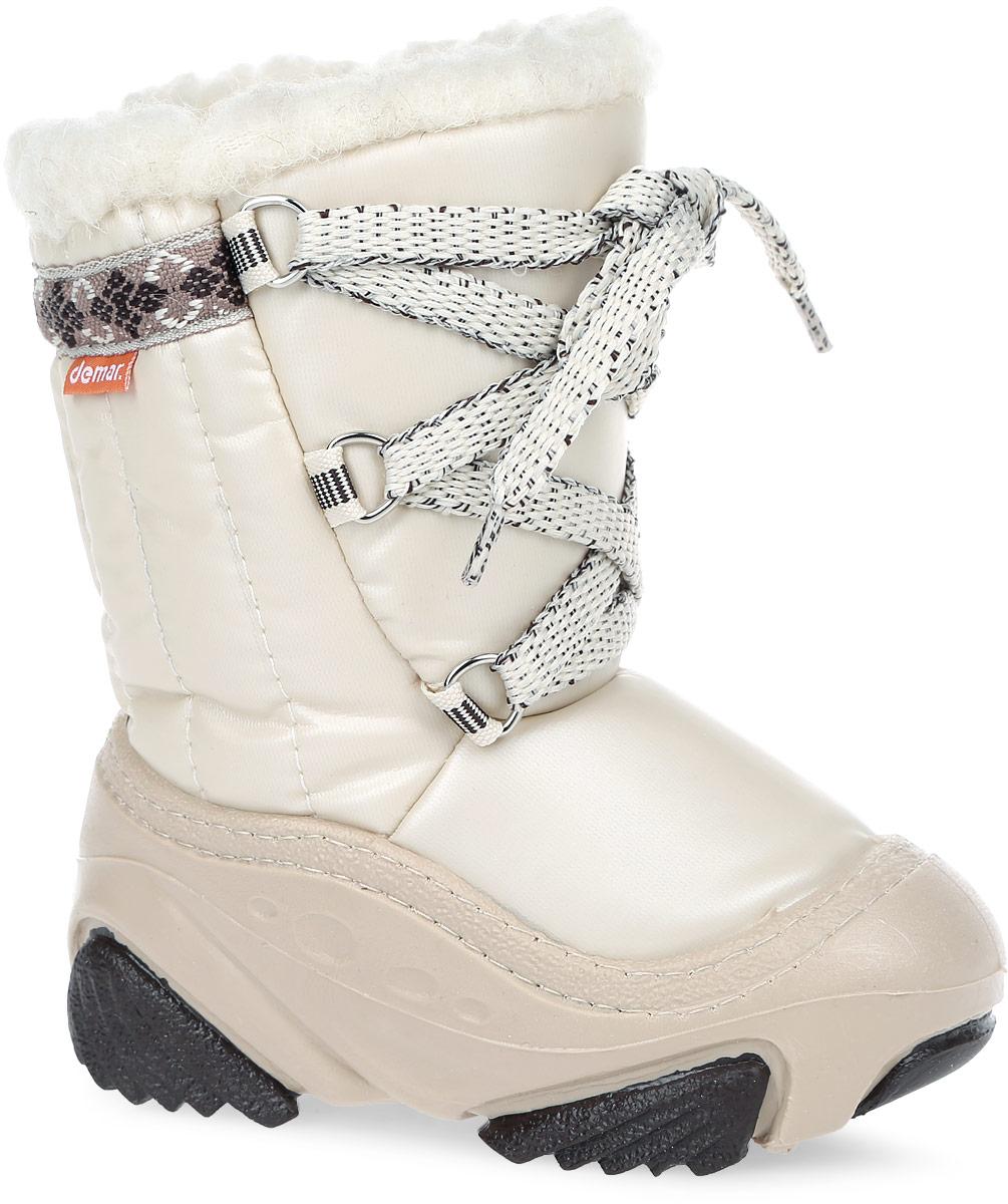 Дутики детские Joy. 40194019 JOY BТеплая и удобная обувь для малышей. Высокая подошва, выполненнач из литой резины имеет специальное рифление, которое защищает от скольжения и сохраняет гибкость даже в значительные морозы.