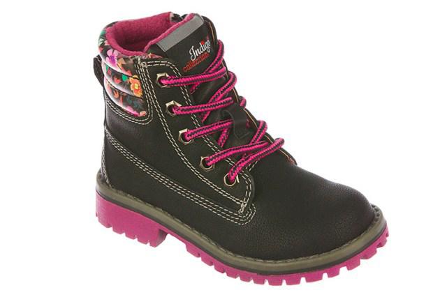 Ботинки для девочек. 51-184A/1251-184A/12