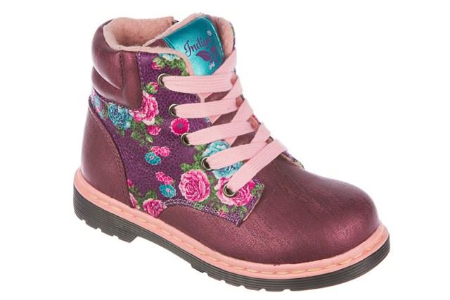 Ботинки для девочек. 51-165A/1251-165A/12