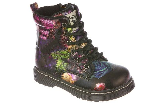 Ботинки для девочек. 51-163A/1251-163A/12