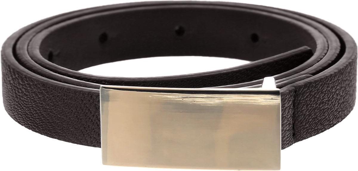 B386512_BlackСтильный женский ремень Baon станет идеальным дополнением к вашему образу. Ремень изготовлен из качественного полиуретана и оформлен декоративным тиснением. Пряжка, с помощью которой регулируется длина ремня, выполнена из качественного металла. Ее основание оформлено металлической фурнитурой. Такой ремень станет незаменимым аксессуаром в вашем гардеробе, который подчеркнет ваш стиль и индивидуальность.