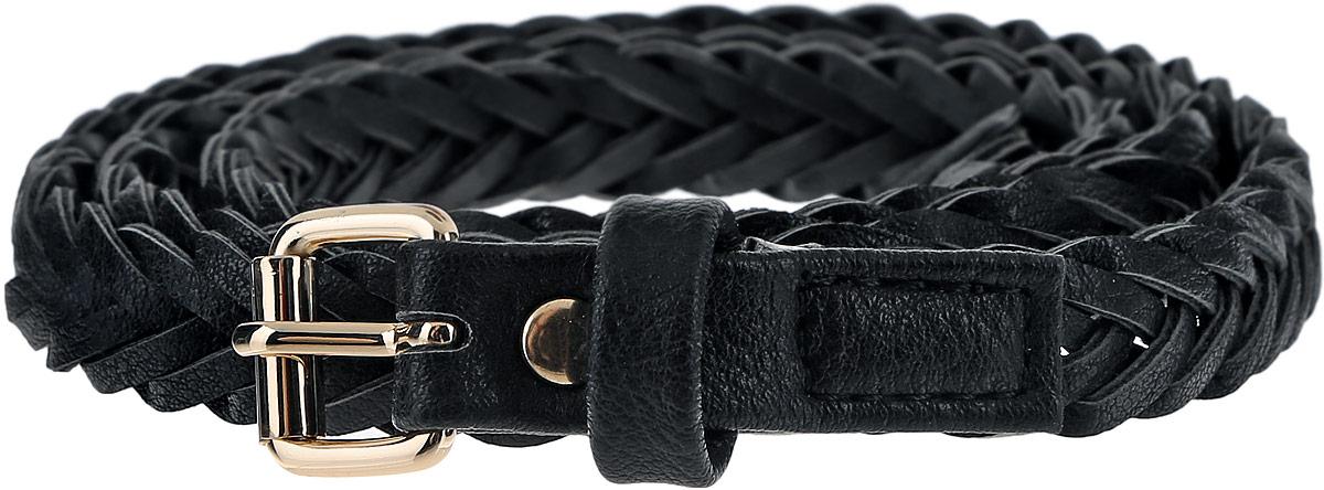 РеменьB386508_BlackСтильный женский ремень Baon станет идеальным дополнением к вашему образу. Изделие изготовлено из качественного полиуретана зернистой текстуры. Ремень оформлен оригинальным плетением. Пряжка, с помощью которой регулируется длина ремня, выполнена из качественного металла. Такой ремень станет незаменимым аксессуаром в вашем гардеробе, который подчеркнет ваш стиль и индивидуальность.