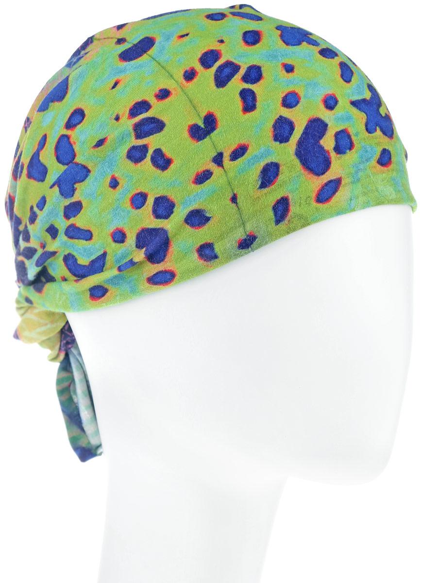 Бандана High UV Protection With Insect Shield Dy Mahi Mahi. 111624.555.10.00111624.555.10.00Самая легкая и дышащая спортивная бандана-труба из серии High UV With Insect Shield для жарких летних месяцев. Надевают такую бандану на голову во время занятий спортом, при отдыхе летом на пляже или на шею при везде на мотоцикле или велосипеде. Специальная четырехканальная структура материала Coolmax формирует систему, которая выводит влагу наружу от кожи к внешнему слою ткани, где испаряется и высыхает быстрее, нежели на любом другом материале. Благодаря своевременному отводу влаги поддерживается нормальная температура тела, и снижается риск перегрева. Также блокируется до 95% ультрафиолетового излучения. Спортивная бандана-труба оформлена ярким контрастным принтом и дополнена фирменным логотипом. Также из многофункциональной банданы Buff можно сделать летнюю повязку на голову. Благодаря материалу Coolmax Extreme, влага моментально отводится наружу и высыхает, также обеспечивается 95% защита от ультрафиолетовых лучей. Данный тип спортивных...