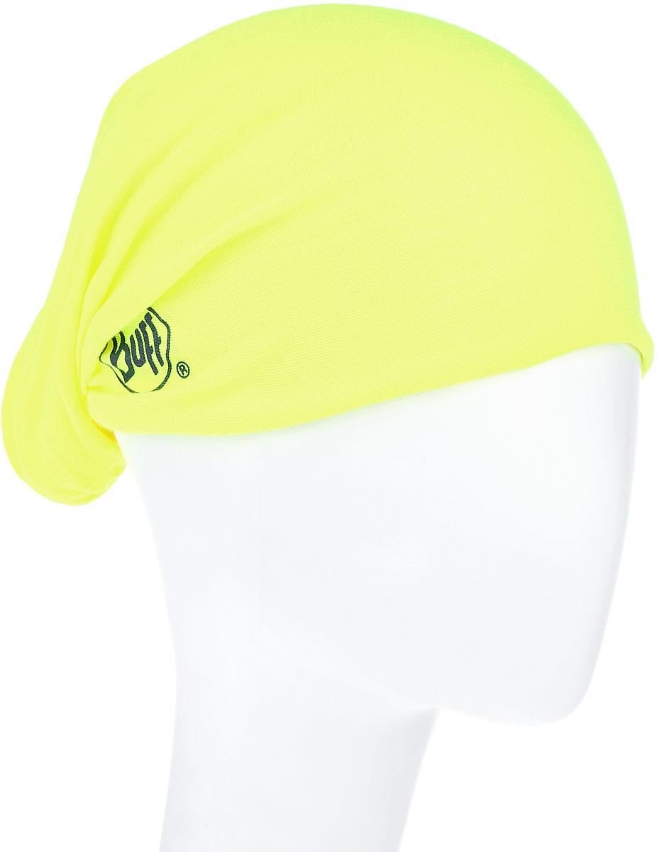 Бандана Original Yellow Fluor. 108837.00108837.00Многофункциональная Buff бандана Original Yellow Fluor, выполненная из мягкой микрофибры. Прекрасно отводит влагу, защищает от УФ-лучей. Материал изделия контролирует микроклимат в холодную и теплую погоду. Ткань обработана ионами серебра, обеспечивающими длительный антибактериальный эффект и предотвращающими появление запаха. Материал не теряет цвет и эластичность, не требует глажки. Бесшовная бандана-труба выполнена в одной цветовой гамме и оформлена надписью бренда. Модель можно носить на шее и на голове, как шейный платок, маску, бандану, шапку и подшлемник. Изделие очень эластично и принимает практически любую форму. Свойства материала позволяют использовать бандану в любое время года, при занятиях любым видом спорта, активного отдыха, туризма или рыбалки.