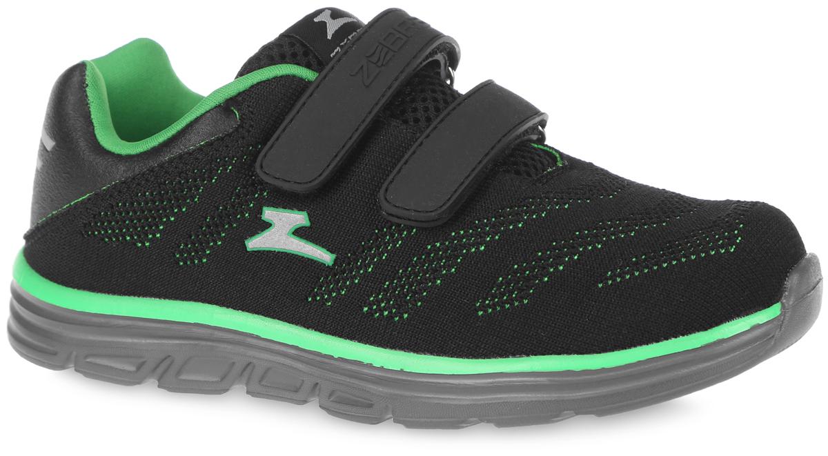 Кроссовки для мальчика. 10905-110905-1Модные кроссовки от фирмы Зебра очаруют вашего ребенка с первого взгляда! Модель выполнена из текстиля. Воздухопроницаемая поверхность верха обеспечивает отличную вентиляцию, позволяет ногам дышать. Ремешки на застежках-липучках, пропущенные через шлевки на подъеме, надежно зафиксируют ногу. Подкладка из текстиля комфортна при движении. Рельефная стелька с поверхностью из натуральной кожи дополнена супинатором, который обеспечивает правильное положение ноги ребенка при ходьбе, предотвращает плоскостопие. Анатомическая стелька способствует правильному формированию скелета и анатомических сводов детской стопы, снижает общую усталость ног, уменьшает нагрузку на позвоночник, делает ходьбу ребенка легкой, приятной и комфортной. Подошва с рифлением обеспечивает отличное сцепление с любой поверхностью. Эффектные кроссовки приведут в восторг вашего модника.