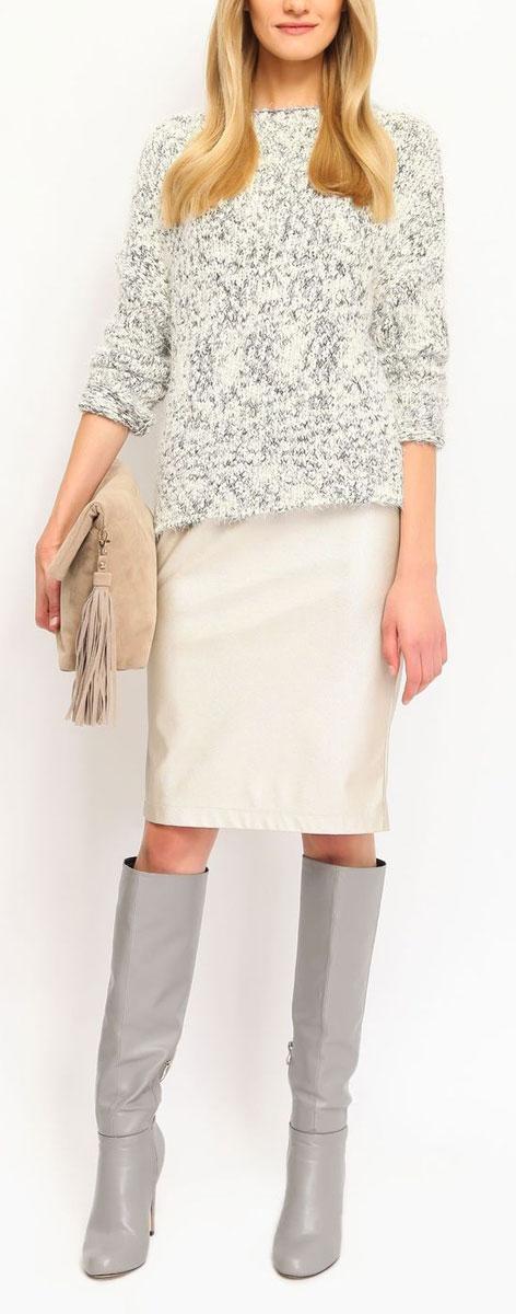 ЮбкаSSD0897ZLЭффектная юбка Top Secret выполнена из плотного полиуретана, она обеспечит вам комфорт и удобство при носке. Оригинальная юбка застегивается на потайную застежку-молнию сзади. Изделие оформлено декоративными вытачками спереди. Модная юбка-карандаш выгодно освежит и разнообразит ваш гардероб. Создайте женственный образ и подчеркните свою яркую индивидуальность! Классический фасон и оригинальное оформление этой юбки сделают ваш образ непревзойденным.