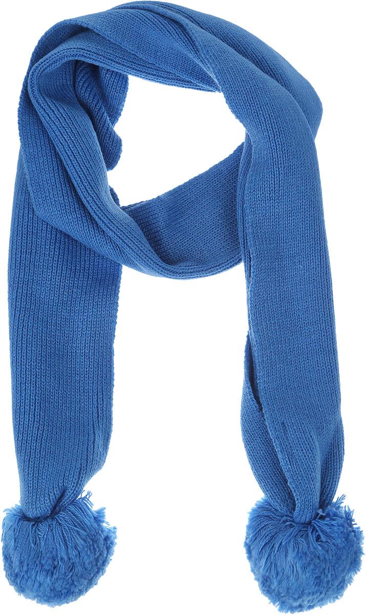 Шарф детскийSC-642/007AS-6302Стильный шарф Sela идеально подойдет для прогулок в холодное время года. Он обладает хорошими дышащими свойствами и хорошо удерживает тепло. Шарф оформлен оригинальными помпонами. Такой шарф станет модным и стильным предметом детского гардероба. Он улучшит настроение даже в хмурые холодные дни.