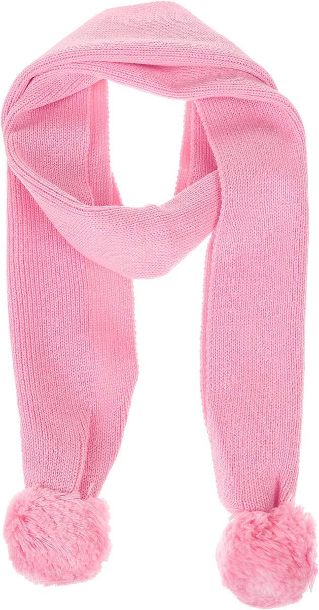 SC-642/007AS-6302Стильный шарф Sela идеально подойдет для прогулок в холодное время года. Он обладает хорошими дышащими свойствами и хорошо удерживает тепло. Шарф оформлен оригинальными помпонами. Такой шарф станет модным и стильным предметом детского гардероба. Он улучшит настроение даже в хмурые холодные дни.