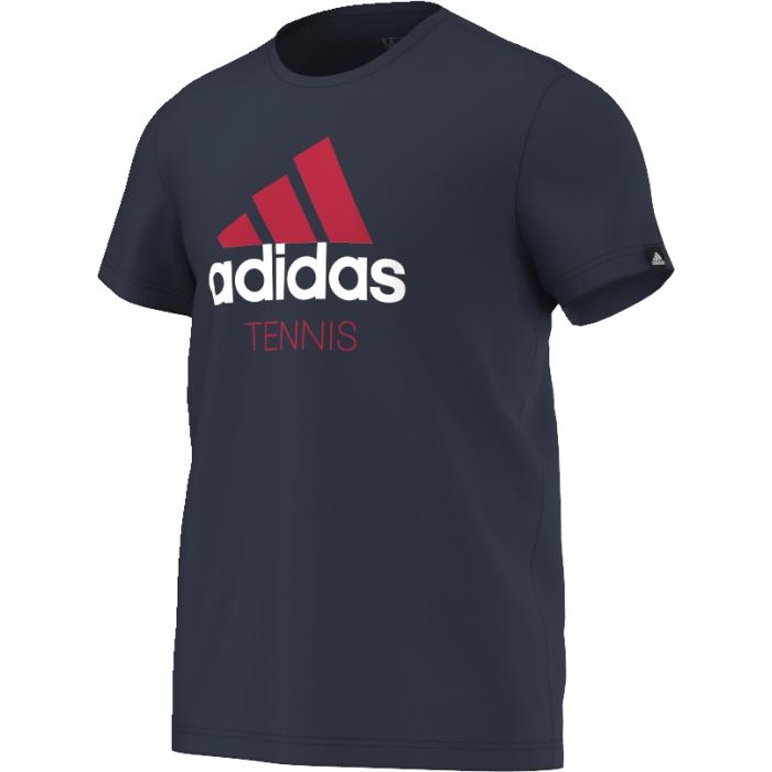 AY7084Футболка Adidas Tennis выполнена из высококачественного материала. Она идеально подходит для активного отдыха и занятий спортом.