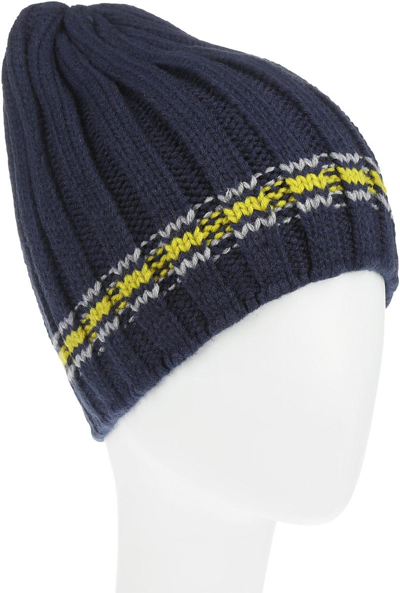 Шапка мужская. HAk-241/014-6302HAk-241/014-6302Стильная мужская шапка Sela идеально подойдет для прогулок и занятия спортом в прохладное время года. Шапка изготовлена из 100% акрила, который обеспечивает удобную посадку и высокую гигроскопичность. Такая шапка станет модным и стильным дополнением вашего зимнего гардероба. Она согреет вас в прохладные осенние дни.