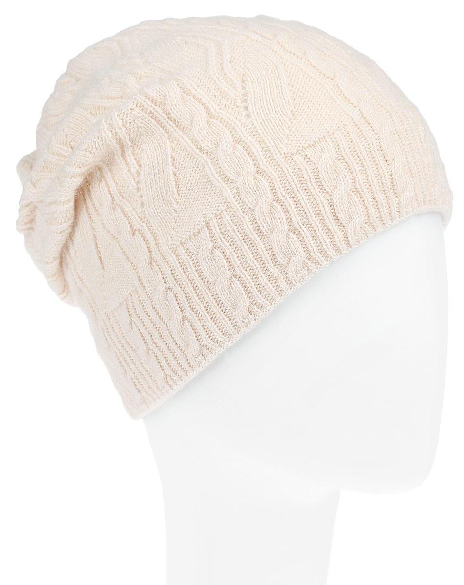 Шапка женская. B346506B346506Вязаная женская шапка Baon отлично подойдет для модниц в холодное время года. Она мягкая и приятная на ощупь, обладает хорошими дышащими свойствами и максимально удерживает тепло. Изделие дополнено металлической пластиной с названием бренда. Такой стильный и теплый аксессуар подчеркнет ваш образ и индивидуальность.