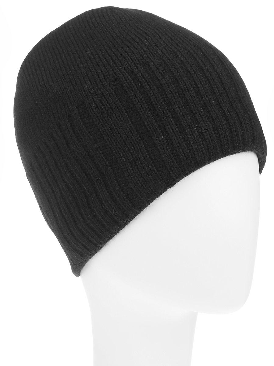 Шапка мужская. B846516B846516_BLACKКлассическая мужская шапка Baon из полушерстяной пряжи отлично дополнит ваш образ в холодную погоду. Сочетание шерсти и акрила максимально сохраняет тепло и обеспечивает удобную посадку, невероятную легкость и мягкость. Внутренняя сторона шапки утеплена мягким флисом. Оформлено изделие вязанной резинкой спереди и ссади, также дополнено небольшой металлической пластиной с названием бренда. Стильная шапка Baon подчеркнет ваш неповторимый стиль и индивидуальность. Такая модель составит идеальный комплект с модной верхней одеждой, в ней вам будет уютно и тепло.