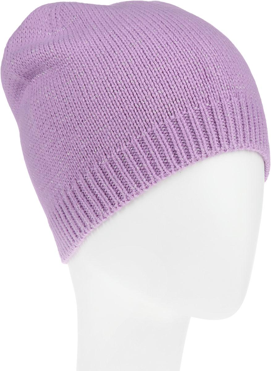 ШапкаHAk-141/016-6302Стильная шапка Sela идеально подойдет для прогулок в прохладное время года. Шапка мелкой вязки изготовлена из мягкой высококачественной пряжи, она обладает хорошими дышащими свойствами и отлично удерживает тепло. Модель дополнена серебристым люрексом и оформлена вязаной резинкой, вокруг головы. Такая шапка станет модным и стильным дополнением вашего зимнего гардероба. Она поднимет вам настроение даже в самые морозные дни!