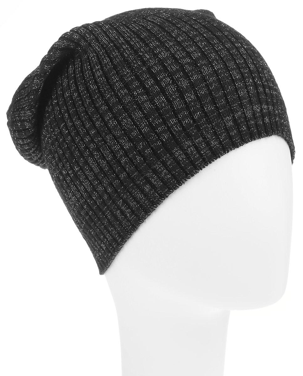 Шапка женская. HAk-141/012-6302HAk-141/012-6302Стильная шапка Sela идеально подойдет для прогулок в прохладное время года. Шапка мелкой вязки изготовлена из мягкой высококачественной пряжи, она обладает хорошими дышащими свойствами и отлично удерживает тепло. Такая шапка станет модным и стильным дополнением вашего зимнего гардероба. Она поднимет вам настроение даже в самые морозные дни! Уважаемые клиенты! Размер, доступный для заказа, является обхватом головы.