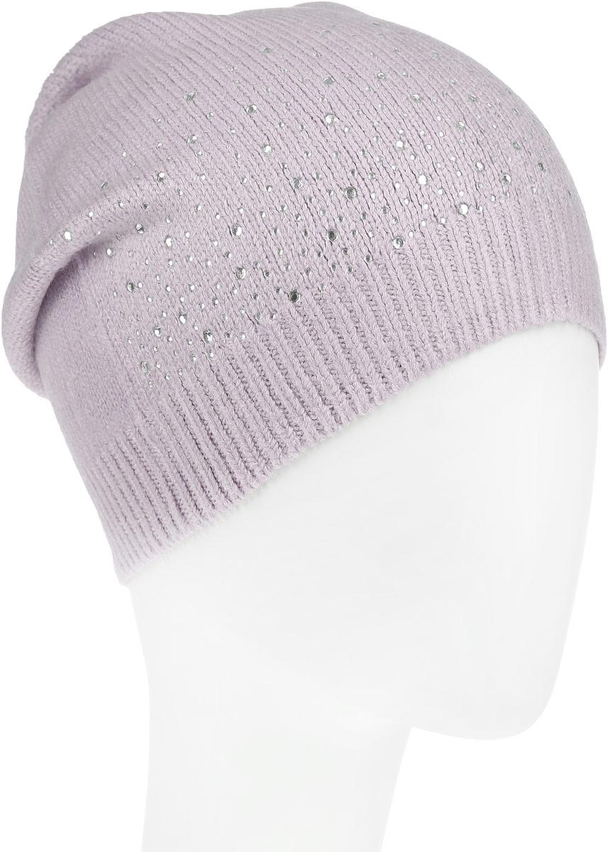 ШапкаHAk-141/010J-6302Стильная шапка Sela идеально подойдет для прогулок в прохладное время года. Шапка мелкой вязки изготовлена из мягкой высококачественной пряжи, она обладает хорошими дышащими свойствами и отлично удерживает тепло. Модель спереди оформлена стразами. Такая шапка станет модным и стильным дополнением вашего зимнего гардероба. Она поднимет вам настроение даже в самые морозные дни! Уважаемые клиенты! Размер, доступный для заказа, является обхватом головы.