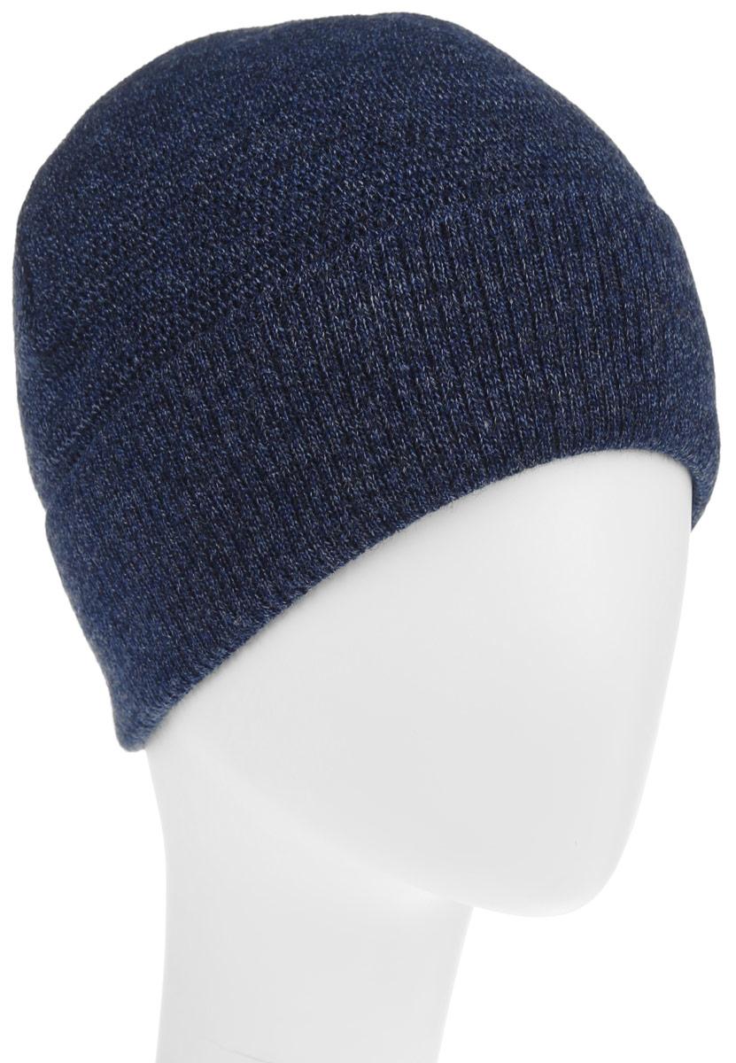 Шапка мужская. B846503B846503_DEEP NAVYКлассическая мужская шапка Baon из полушерстяной пряжи отлично дополнит ваш образ в холодную погоду. Сочетание шерсти и акрила максимально сохраняет тепло и обеспечивает удобную посадку, невероятную легкость и мягкость. Внутренняя сторона шапки утеплена мягким флисом. Оформлено изделие небольшой металлической пластиной с названием бренда. Стильная шапка Baon подчеркнет ваш неповторимый стиль и индивидуальность. Такая модель составит идеальный комплект с модной верхней одеждой, в ней вам будет уютно и тепло.