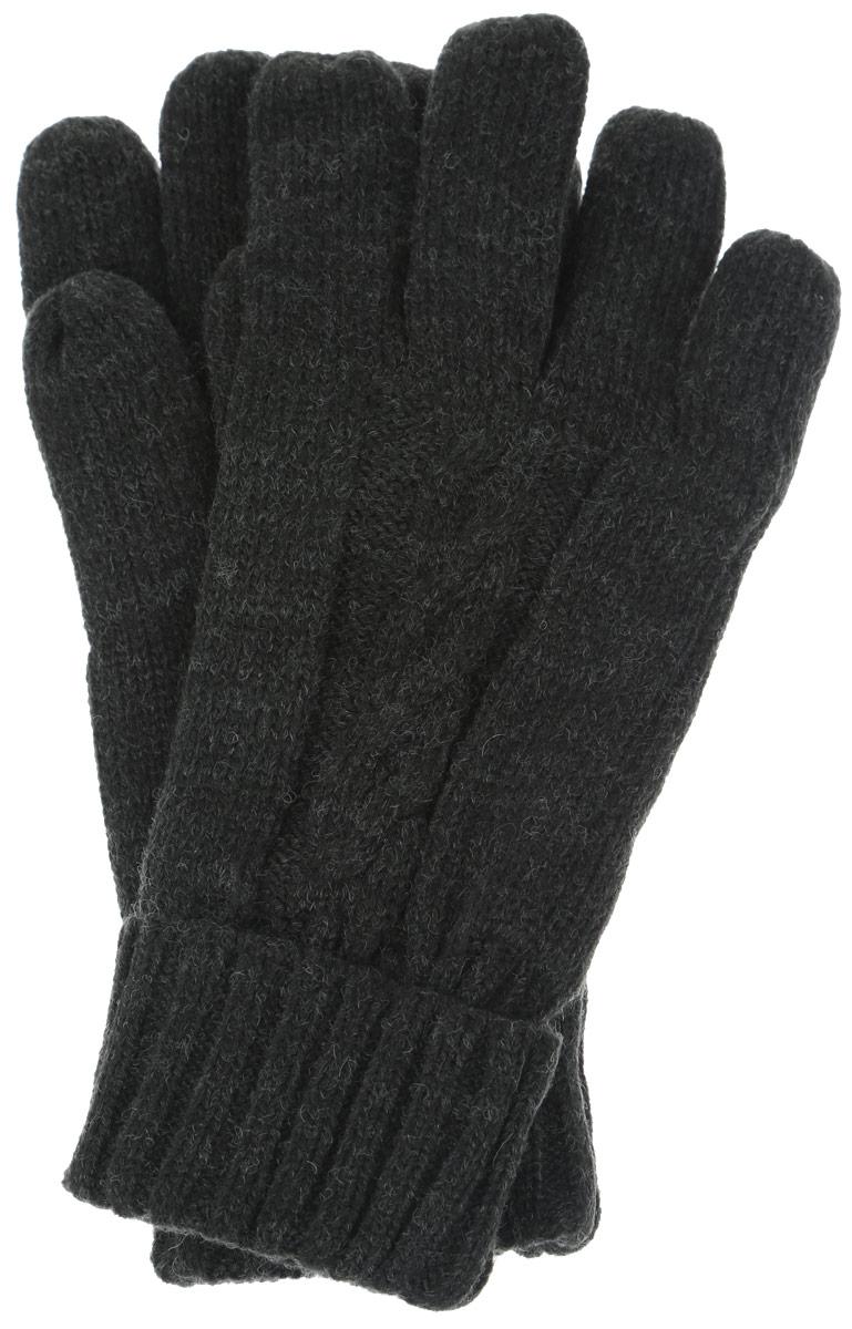 Перчатки мужские. GL-243/017-6302GL-243/017-6302Практичные мужские перчатки Sela - незаменимый аксессуар зимнего гардероба на каждый день. Перчатки выполнены из акрила с добавлением шерсти. С внутренней стороны дополнены подкладкой из 100% полиэстера. Лицевая сторона оформлена вязаным узором косичка. Манжеты связаны резинкой, их при желании можно отвернуть. Перчатки станут завершающим элементом вашего стиля и защитят ваши руки от холода.