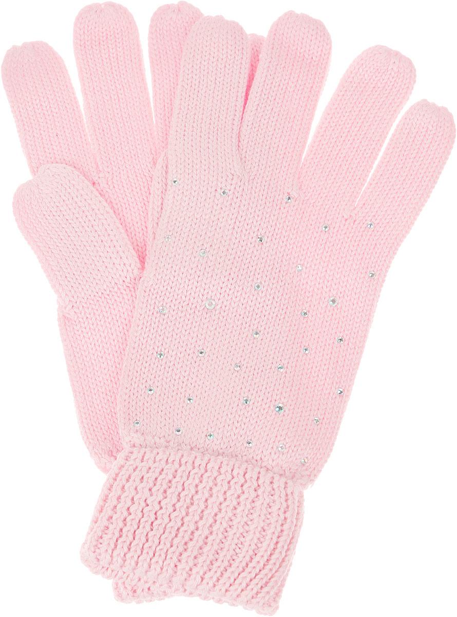 Перчатки для девочки. GL-643/057AV-6302GL-643/057AV-6302Вязаные перчатки для девочки Sela идеально подойдут для прогулок в прохладное время года. Изготовленные из высококачественного материала, очень мягкие и приятные на ощупь, не раздражают нежную кожу ребенка, обеспечивая ему наибольший комфорт, хорошо сохраняют тепло. Уютные хлопковые перчатки украшены сверкающими стразами. Верх модели на мягкой резинке, которая не стягивает запястья и надежно фиксирует перчатки на ручках ребенка. Современный дизайн и расцветка делают эти перчатки модным и стильным предметом детского гардероба. В них ваша маленькая модница будет чувствовать себя уютно и комфортно и всегда будет в центре внимания!