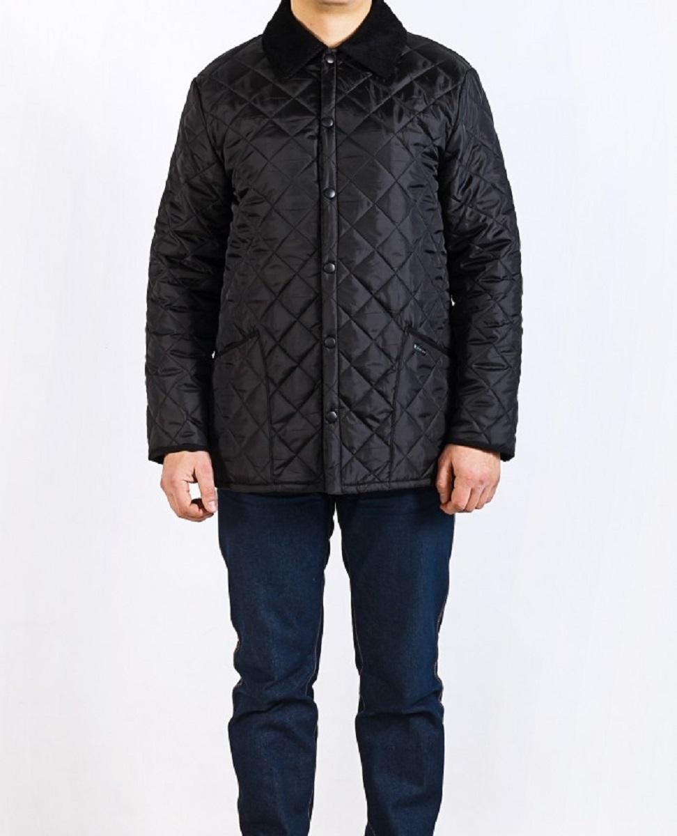 Куртка22306 BСтильная мужская куртка Montana превосходно подойдет для прохладных дней. Куртка выполнена из полиэстера, отлично защищает от дождя и ветра. Воротник выполнен из вельветовой ткани. Модель классического прямого кроя с длинными рукавами и отложным воротником застегивается на крупные кнопки спереди. Изделие дополнено двумя накладными карманами а также двумя внутренними карманами на застежках-молниях. Куртка оформлена стегаными узором.