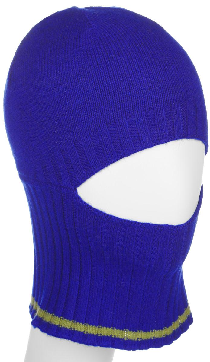 Шапка детскаяHAk-841/098-6302Стильная шапка Sela для мальчика дополнит наряд и не позволит замерзнуть в холодное время года. Шапка выполнена из высококачественной пряжи, что позволяет ей великолепно сохранять тепло и обеспечивает высокую эластичность и удобство посадки. Удлиненное изделие оформлено больной вязанной резинкой. Посередине имеется вырез для глаз и носа. Это изделие поможет скрыть нежное детское лицо от ветра и холода. Такая шапка составит идеальный комплект с модной верхней одеждой, в ней вам будет уютно и тепло.