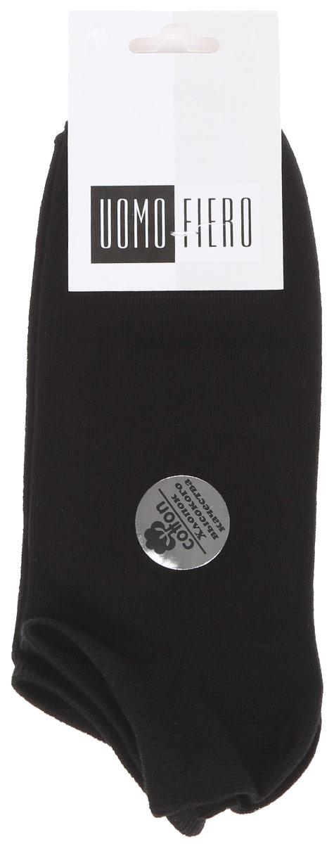 НоскиMS062Мужские укороченные носки Uomo Fiero изготовлены из высококачественного хлопкового волокна, которое обеспечивает великолепную посадку. Носки имеют укороченный паголенок и отличаются элегантным внешним видом. Удобная небольшая резинка идеально облегает ногу и не пережимает сосуды, усиленные пятка и мысок повышают износоустойчивость носка. Удобные и комфортные носки великолепно подойдут к любой вашей обуви.