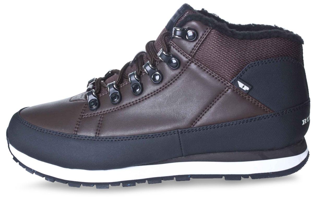 Ботинки586-754IM-17w-01-1Стильные мужские ботинки от Patrol займут достойное место в вашем гардеробе. Модель выполнена из искусственной кожи со вставками из текстиля. Подкладка и стелька из искусственного меха отлично сохраняют тепло. Изделие на классической шнуровке, что способствует надежной фиксации на ноге. Задник и язычок декорированы фирменным логотипом. Данные ботинки можно сочетать с самыми разнообразными вещами вашего гардероба, они сделают вас ярче и подчеркнут индивидуальность.