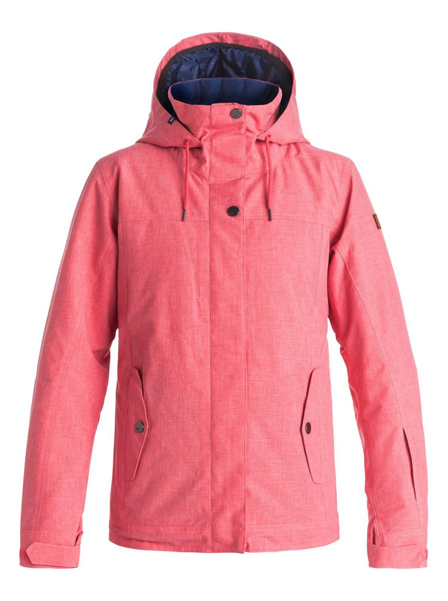 КурткаERJTJ03060-BGM0Женская куртка выполнена из полиэстера с утеплителем Warmflight (тело 120 г, рукава 100 г, капюшон 60 г). Подкладка из тафты со вставками из трикотажа с начесом. Критические швы проклеены. Съемный капюшон регулируется тремя способами. Фиксированная противоснежная юбка из тафты с удобными кнопками. Система пристегивания куртки к штанам. Подкладка в районе подбородка. Куртка дополнена нагрудным карманом, внутренним медиакарманом, внутренним карманом для маски, брелоком для ключей. Лайкровые гейтеры в рукавах. Кармашек для скипасса на рукаве. Сеточная вентиляция подмышками. Карманы с теплой подкладкой.