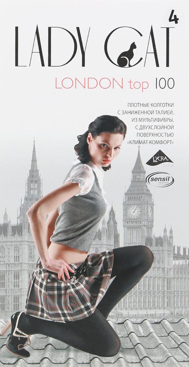 Колготки жен. London Top 100London Top 100Изящные теплые колготки Lady Cat London Top 100 с заниженной талией, мультифиброй и двухслойной поверхностью КЛИМАТ-КОМФОРТ. Изготовлены из эластичного полиамида с добавлением хлопка, идеально дополнят ваш образ и подчеркнут элегантность и стиль. Плотные колготки без шортиков с заниженной талией легко тянутся, что делает их комфортными в носке. Гладкие и мягкие на ощупь, они имеют комфортный широкий пояс. Хлопковая ластовица и плоские швы обеспечивают дополнительный комфорт. Идеальное облегание и комфорт гарантированы при каждом движении. Такая модель идеально дополнит ваш гардероб.