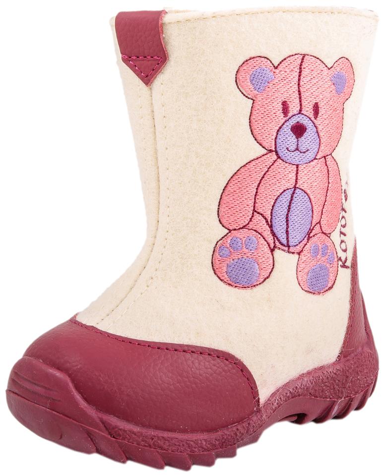 167025-41Валенки с подкладкой из шерстяного меха обладают наивысшими теплозащитными свойствами. Данный вид обуви производится из экологически чистой 100% натуральной овечьей шерсти. Обувь из шерсти «дышит», обладает массажным воздействием, способствует улучшению циркуляции крови. Подошва валенок из термоэластопласта легкая и удобная, не «дубеет» на морозе. Пяточная и носочная части защищены натуральной кожей с полиуретановым покрытием. Удобная застежка-молния позволяет легко обувать и снимать валенки. Милая вышивка порадует вашего малыша. Наши валенки сочетают в себе удобство и уют традиционных русских валенок с современным дизайном!