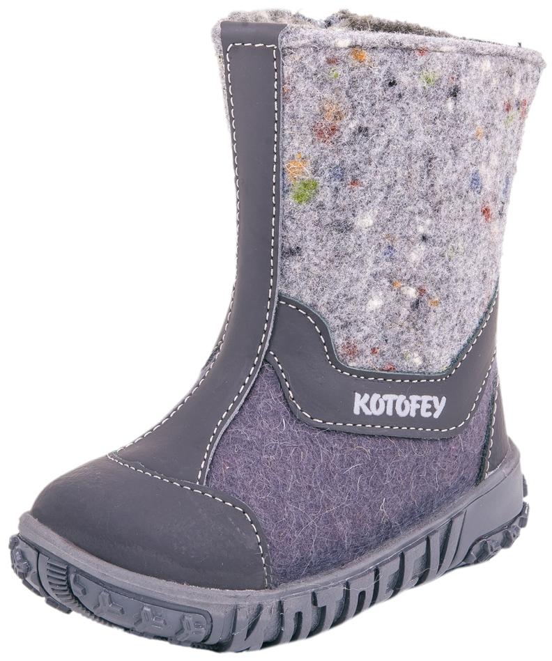 267006-47Материал верха плотный обувной войлок. Носочная часть защищена кожаным отрезным носком с покрытием, что придаёт носочной части износостойкость и защиту от химических реагентов. Подошва модели клеевая. Материал подкладки - шерстяной мех из натуральной овечьей шерсти отлично сохраняет тепло, отводит влагу от ноги, придает дополнительный комфорт. Фиксация на ножке достигается благодаря молнии.